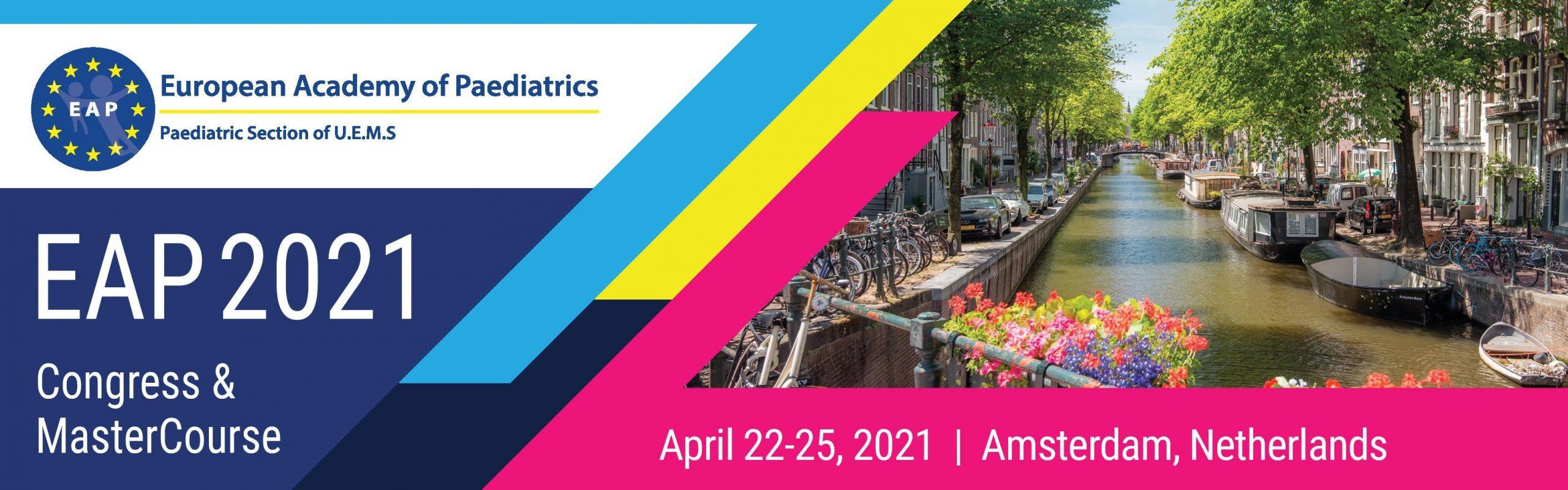 EAP 2021 European Academy of Paediatrics Congress and MasterCourse