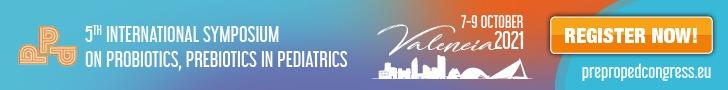 5th International Symposium on Probiotics, Prebiotics in Pediatrics